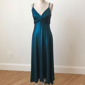 Naven Iridescent strappy long dress.